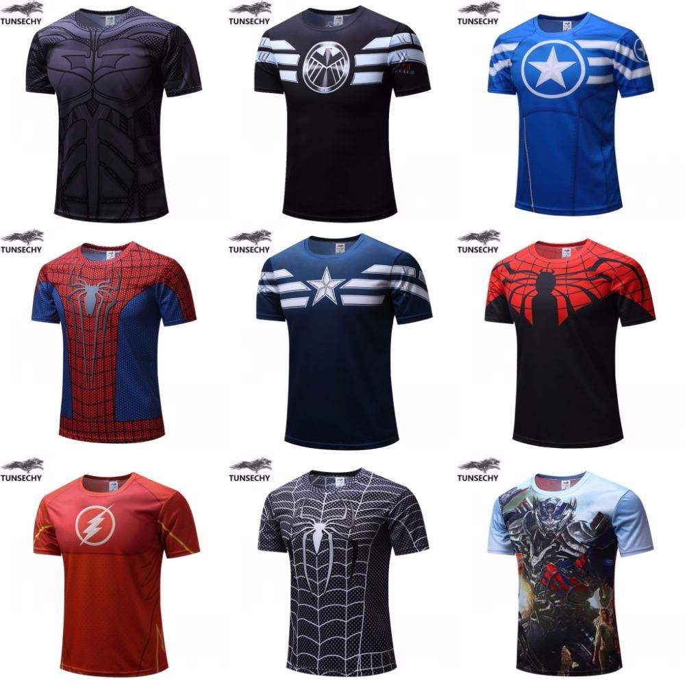 635e78bac948a Camisetas de Super Heróis