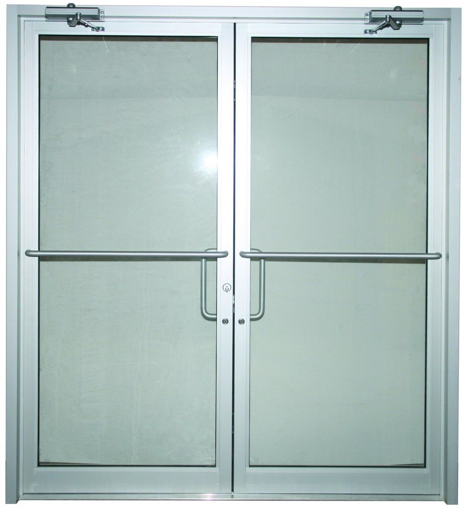 Commercial glass double doors images for Double glazed glass panels