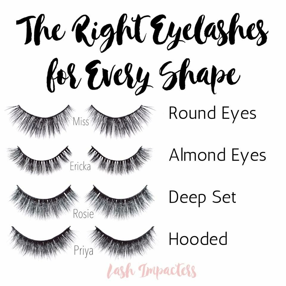 7331e718cd3 We have lashes for every eye shape. What's yours? | Red Aspen in ...