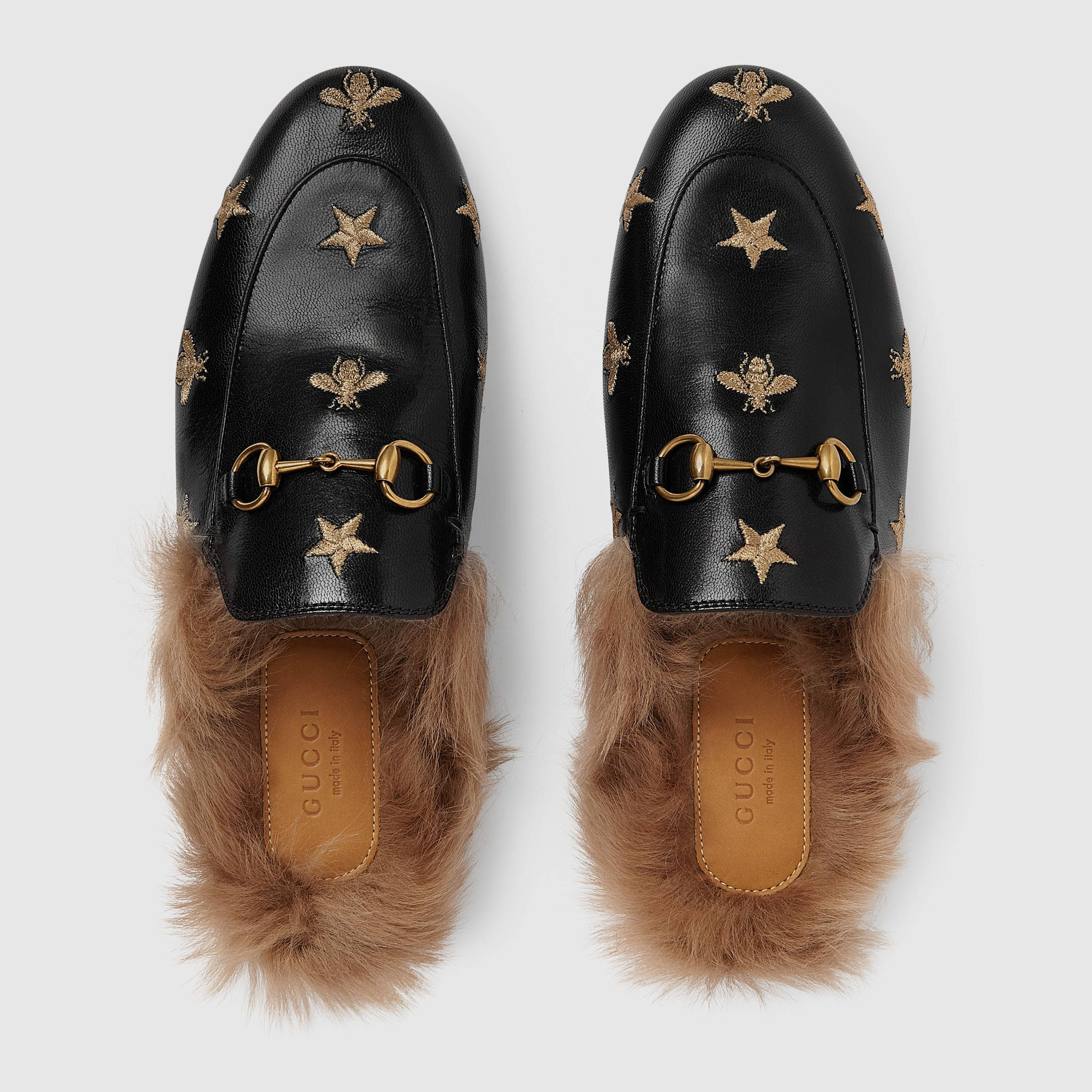 ae660d5f0d0c0 Princetown embroidered leather slipper | shoes | Leather slippers ...
