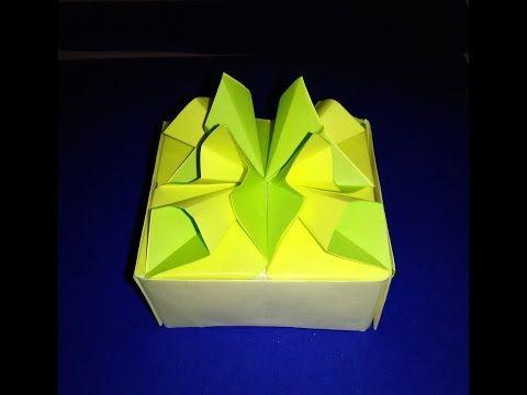 Origami Daisy/ Chrysanthemum Flower 折纸小雏菊 V2 - YouTube (With ...   360x480