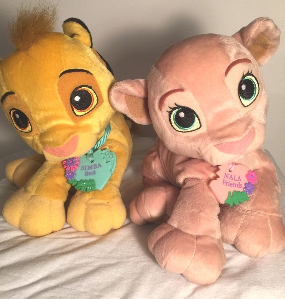 Disney s The Lion King Simba   Nala Sweetheart Kissing Magnetic Plush Toys   Hasbro  disney  thelionkey a9f54c57a171