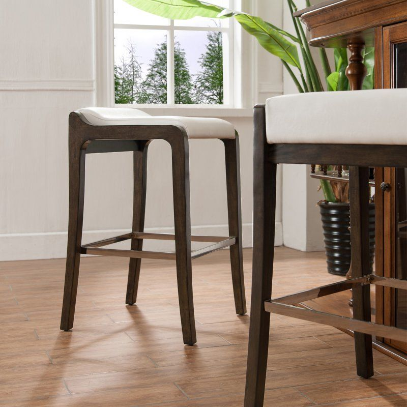 Leick Home Fastback Counter Height Stool Set Of 2 Counter