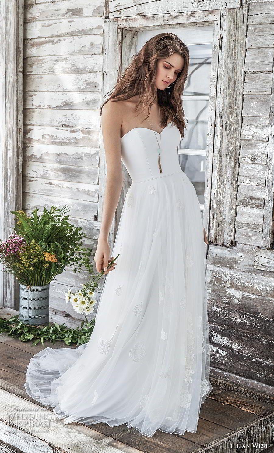 Best wedding dresses for 50 year olds  Lillian West Spring  Wedding Dresses  weddingHERS  Pinterest