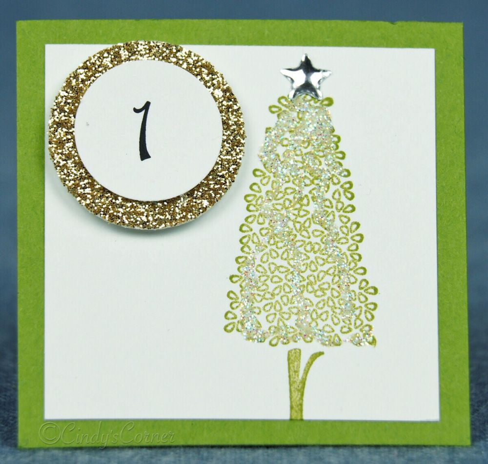 Advent Calendar Countdown to Christmas Day 1 (With