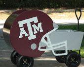 Aggie Helmet Wagon.
