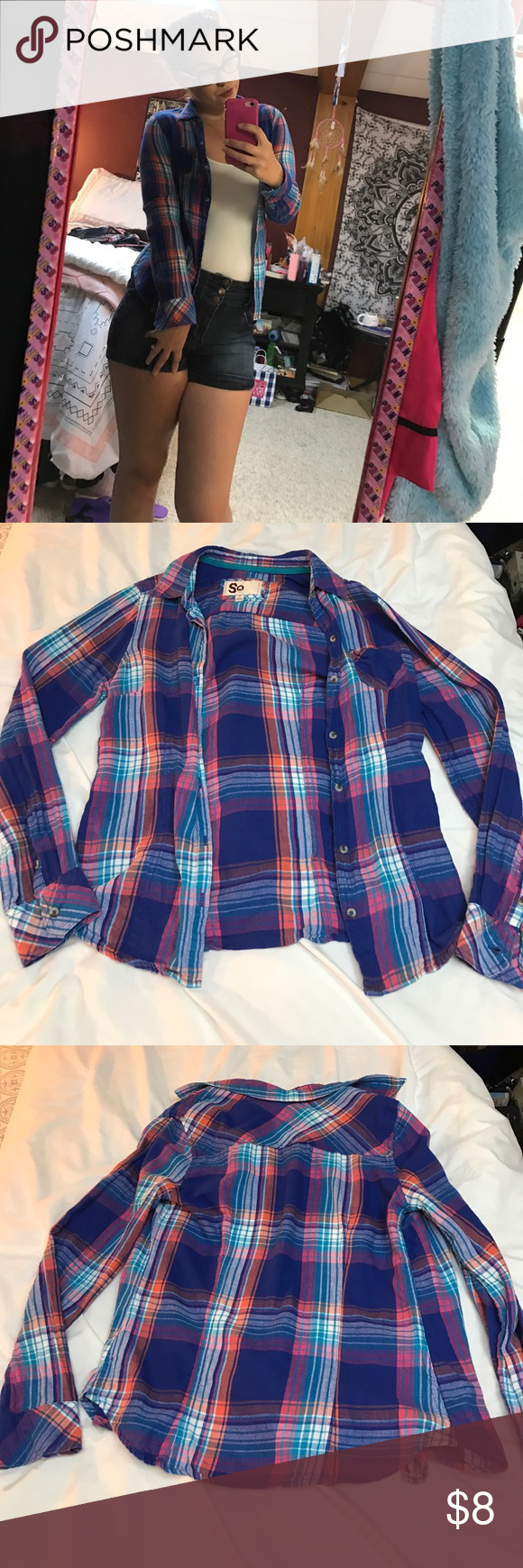 Flannel shirts at kohl's  Fashion flannel  Flannels Pink blue and Cotton