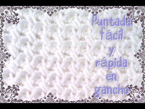 e960c5e55ba88 Manta  cobijita  colcha   frazada para bebe en crochet fácil y rápido  (original) parte 1 de 3 - YouTube