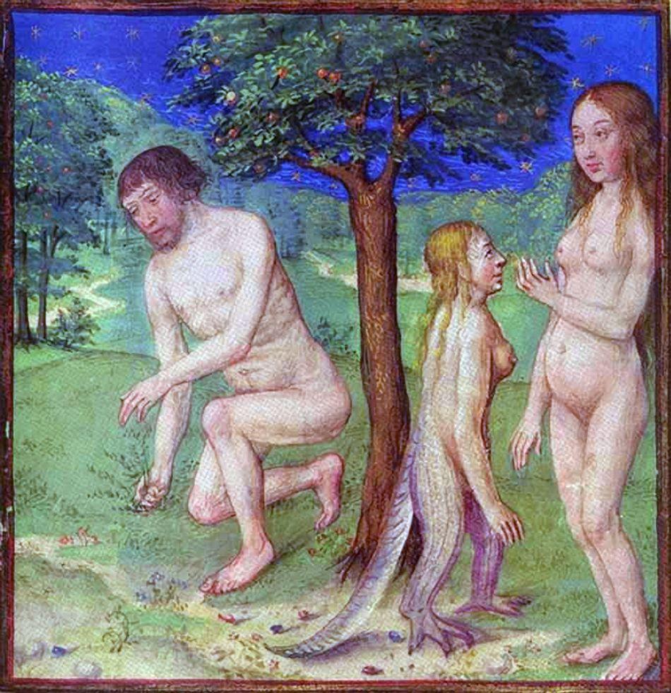 adam and eve adam and eve pinterest illuminated manuscript
