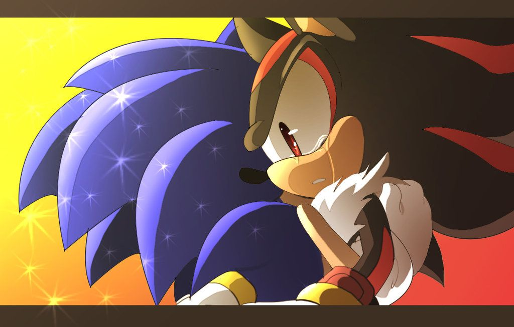 You Re Not Alone By Angelofhapiness Deviantart Com On Deviantart Sonadow For Ever Sonamy And Other Sonic Fanfics Li Sonic And Shadow Shadow The Hedgehog Sonic