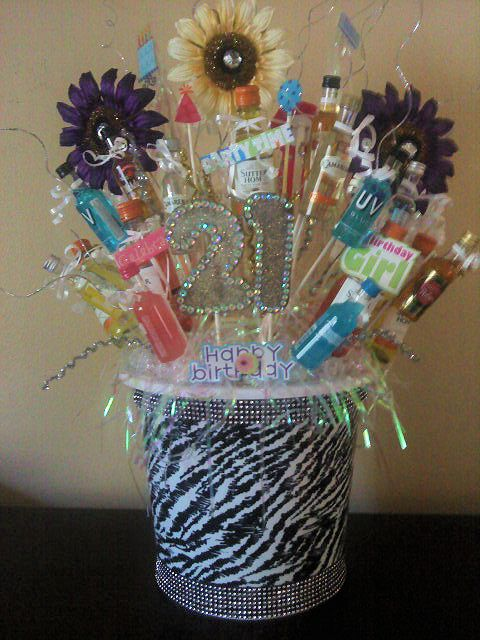 MY DAUGHTERS 21ST BIRTHDAY BUCKET