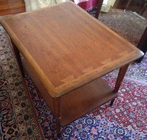 MCM Walnut End Table or Coffee Table Lane Mid Century Modern | eBay