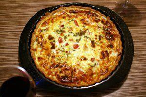 Receta De Quiche De Verduras Y Atún Sin Huevo Fácil Y Deliciosa Quiche De Verduras Receta Quiche Comida