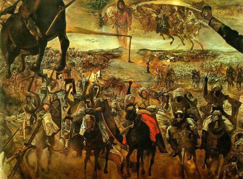La Batalla De Tetun De Salvador Dal Symbolismsurrealism And