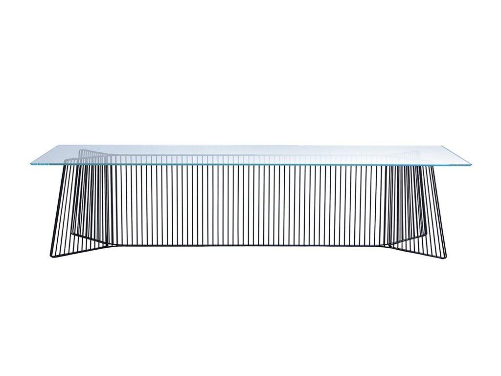 mesa de jantar com estrutura de metal