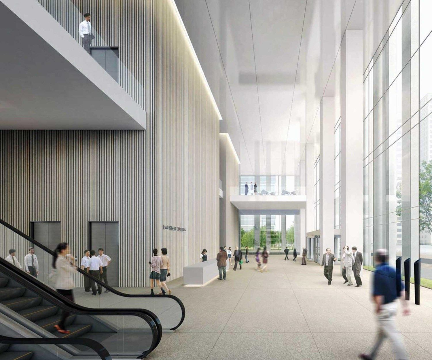 Daishin Securities HQ. Design Competition For Daishin Securities New Headquarters Building In