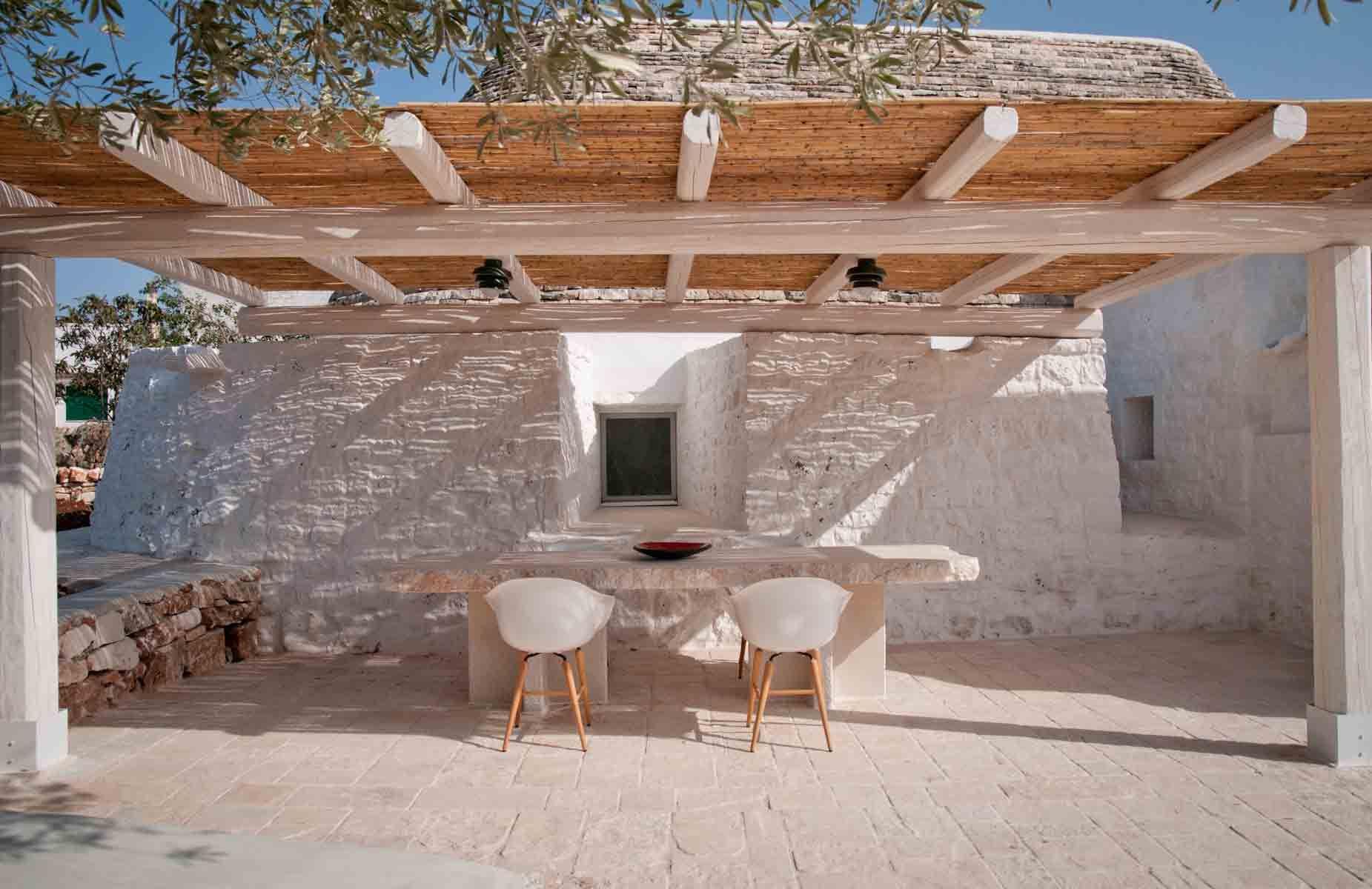 Gazebo in a trullo casa del rancho ideas de playa for Arredare un trullo
