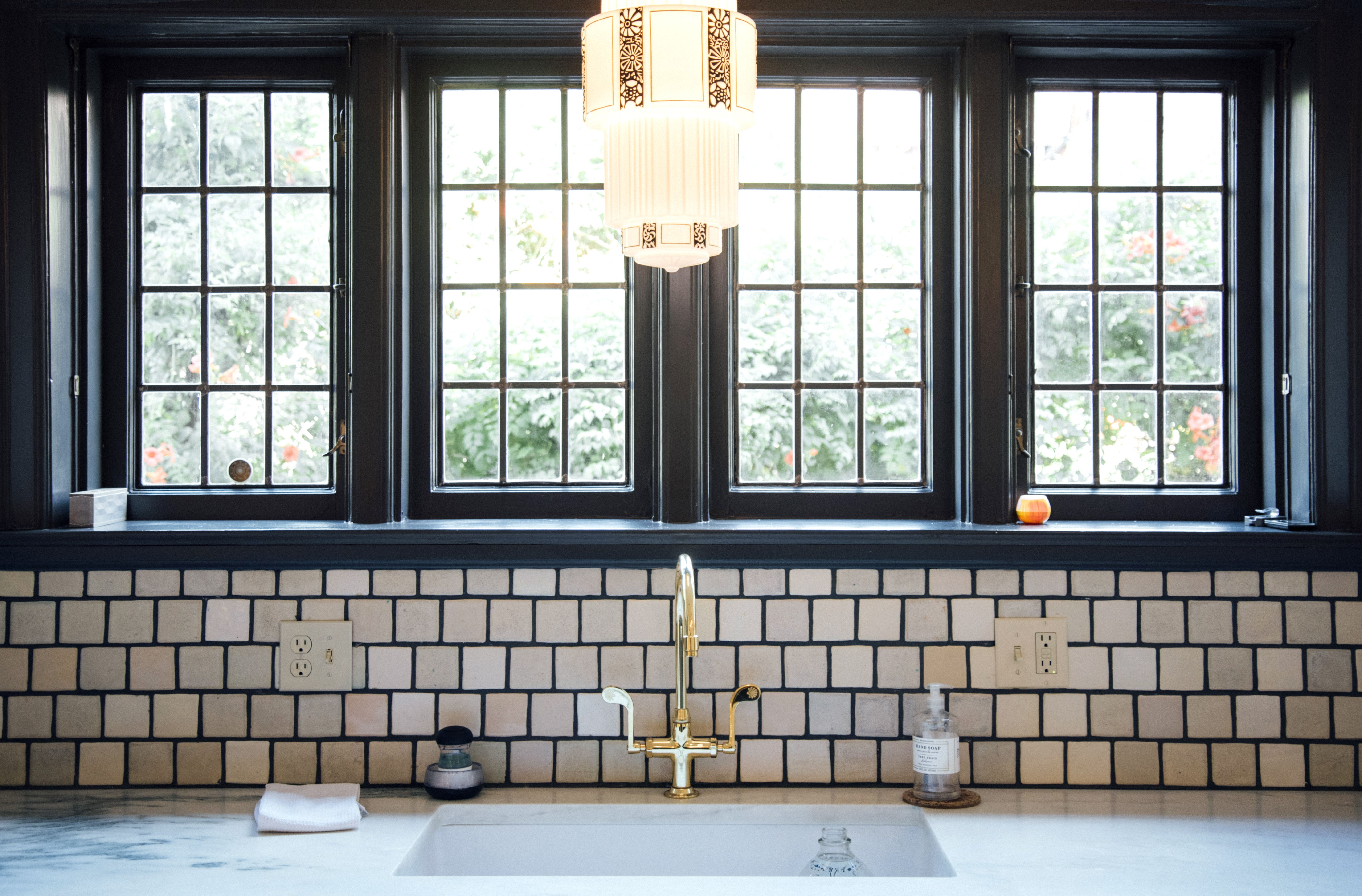 Handcrafted kitchen backsplash with pewabic tiles tile for the handcrafted kitchen backsplash with pewabic tiles dailygadgetfo Choice Image