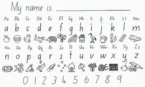 nsw foundation handwriting worksheets - Google Search ...