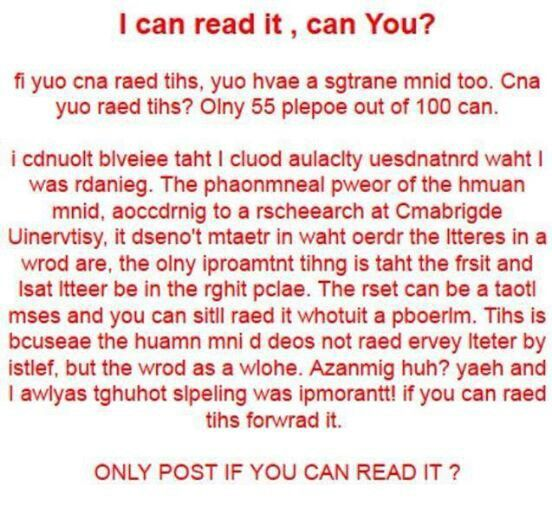 Pin if you can read this