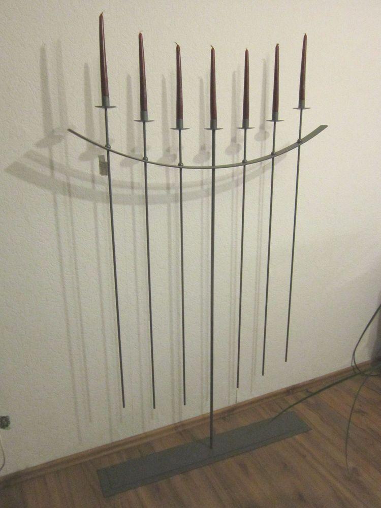 Kerzenständer Metall kandelaber 7 flammiger kerzenständer groß aus metall farbe