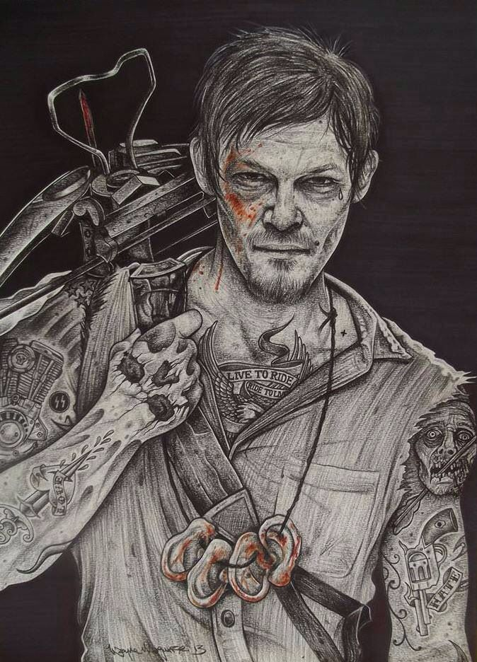 Wayne Maguire Art Walking Dead Art The Walking Dead Poster Ink Gallery