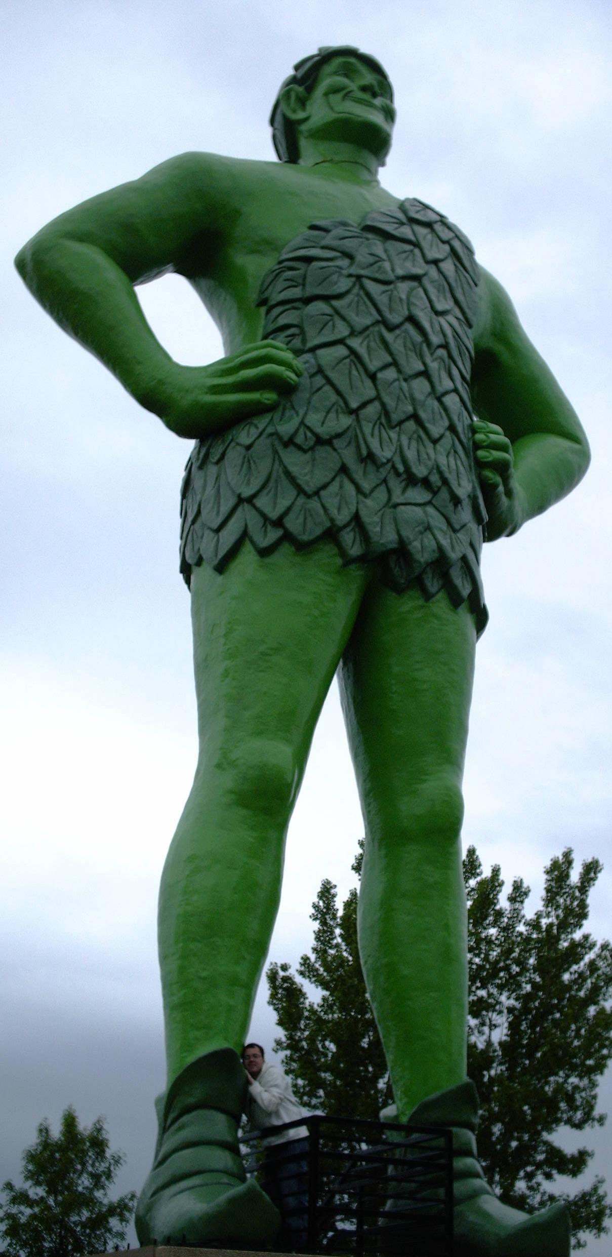 Minnesota's own: Ho ho ho Green Giant!