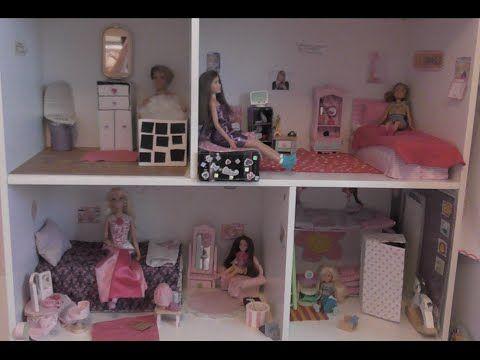 Huge Barbie House Tour Youtube Barbie House Tour Barbie