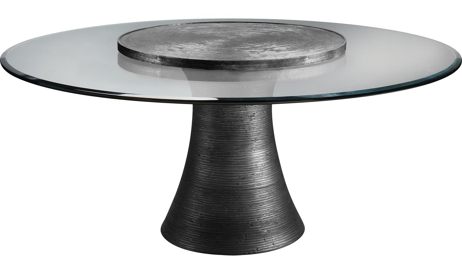 Katoucha 72 Dining Table W 36 Lazy Susan By Jacques Garcia 3837 72 Baker Furniture Dining Table Table Lazy Susan