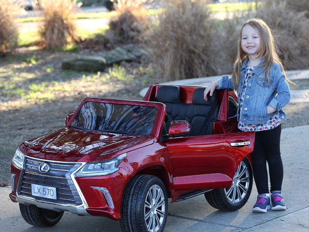 lexus lx 570 toddler 4wd remote control ride on car with 2 seats Online Shopping -