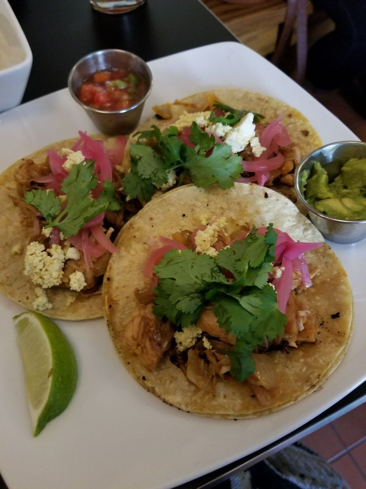 Detroit Street Filling Station Vegan Restaurant In Ann Arbor Michigan Tacos