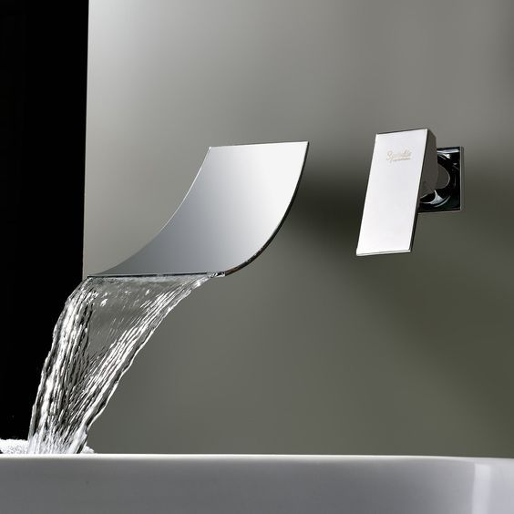 Wasserhähne Bad sprinkle wasserfall verbreiteten zeitgenössischen waschbecken