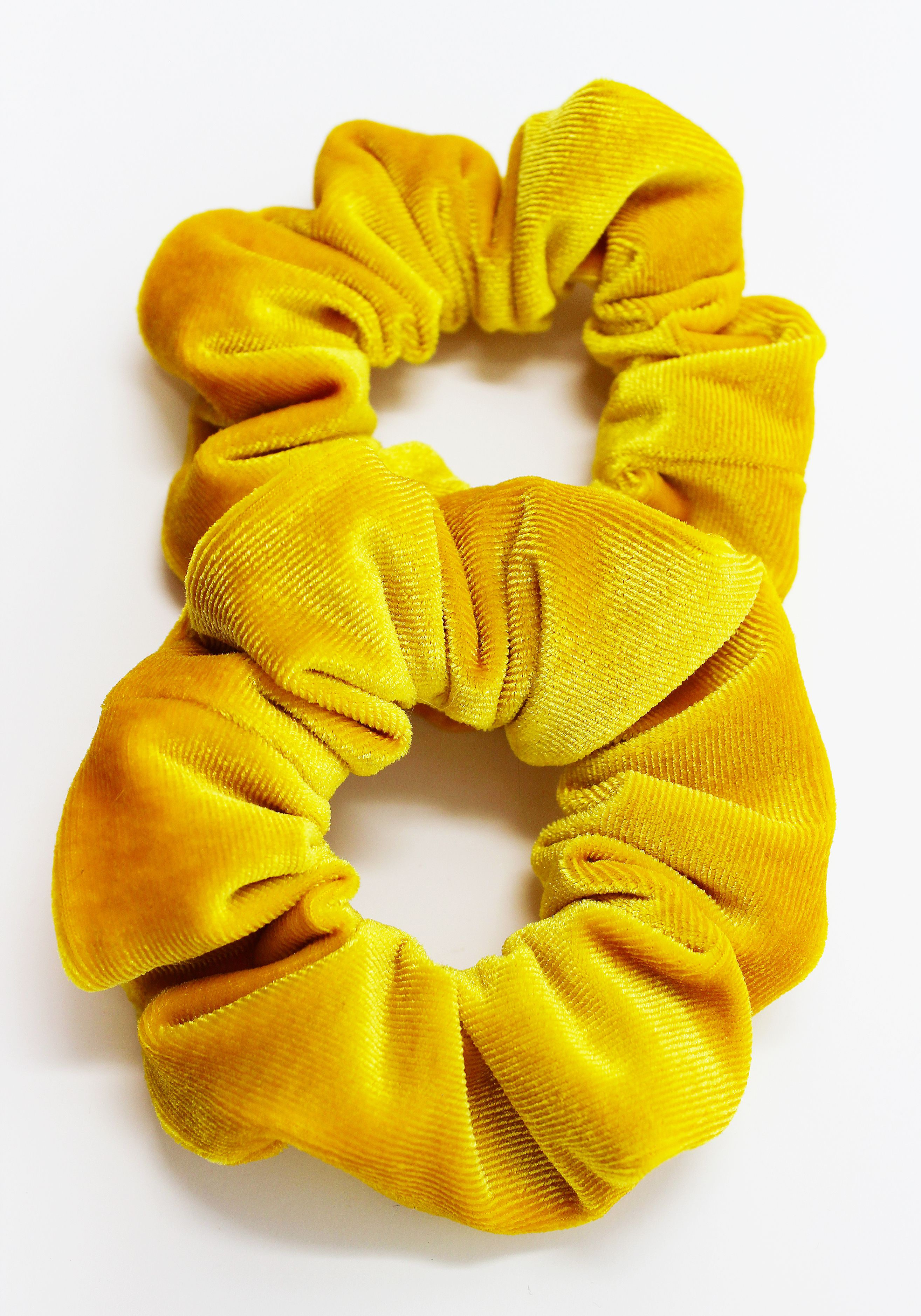 Yellow Accessory Sunflower Hair Scrunchie Fall Hair Tie