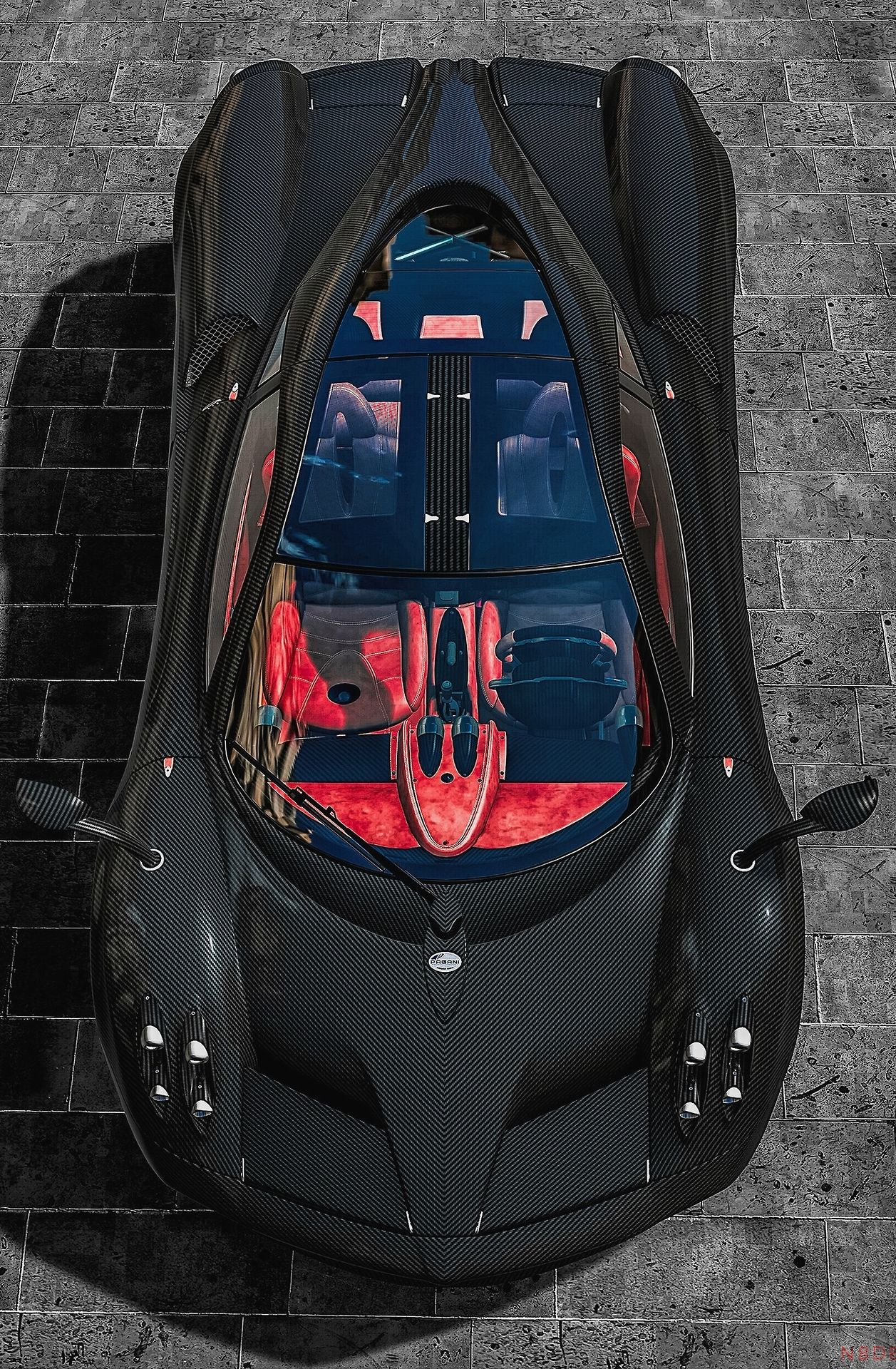 Upload A Cool Car Like This Pagani Huayra To EBayGarage And It - We love cool cars