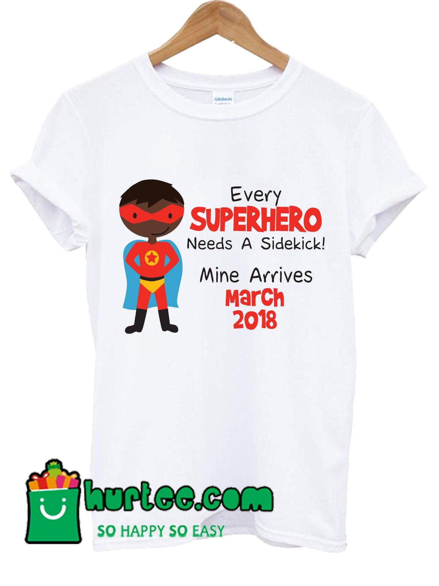 3adb62a45ca Personalised Superhiro Sidekick Big Brother T Shirt
