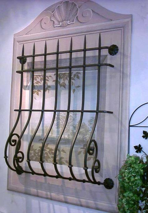 Inferriata Panciuta Muebles Pinterest Ventanas Rejas