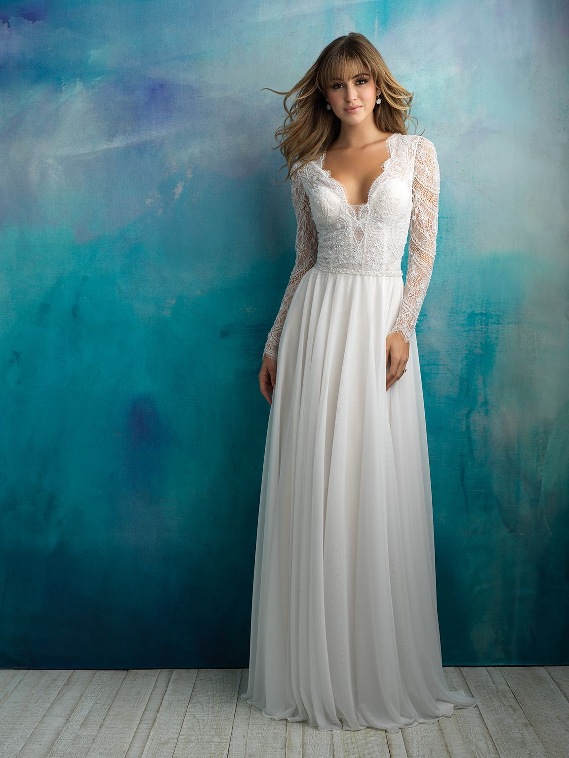 TRUNK SHOW GOWN// Allure Bridal. Style #9515 - Sample size 12 ...