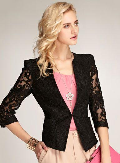 último diseño estilo clásico descuento modelo de chaquetas para mujer - Buscar con Google | Chaquetas ...