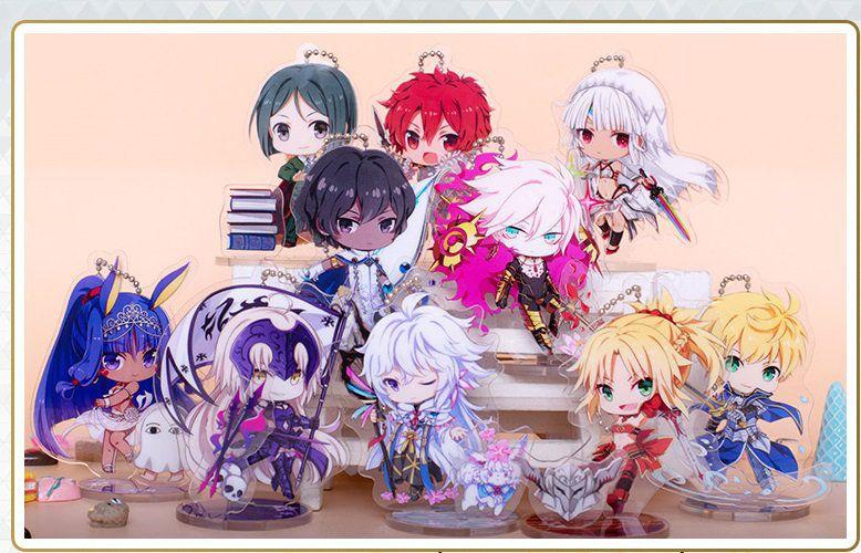 Anime Fate Grand Order FGO Arjuna Acrylic Stand Figure