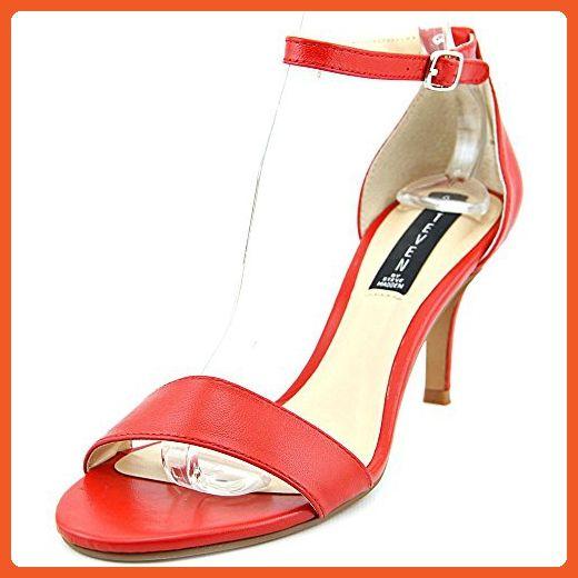 4a41240754a5b STEVEN by Steve Madden Women's Viienna Dress Sandal (5 B(M) US, Red ...