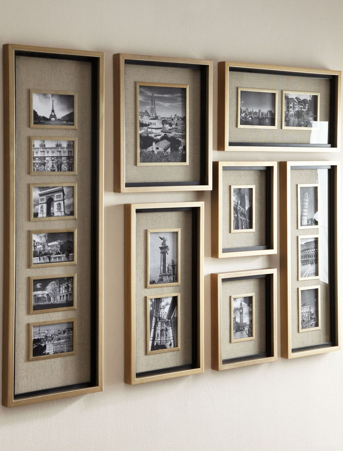 Masena Photo Collage Frames   Decorations   Pinterest   Cuadro, Baño ...