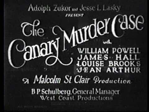 Watch The Canary Murder Case Full-Movie Streaming