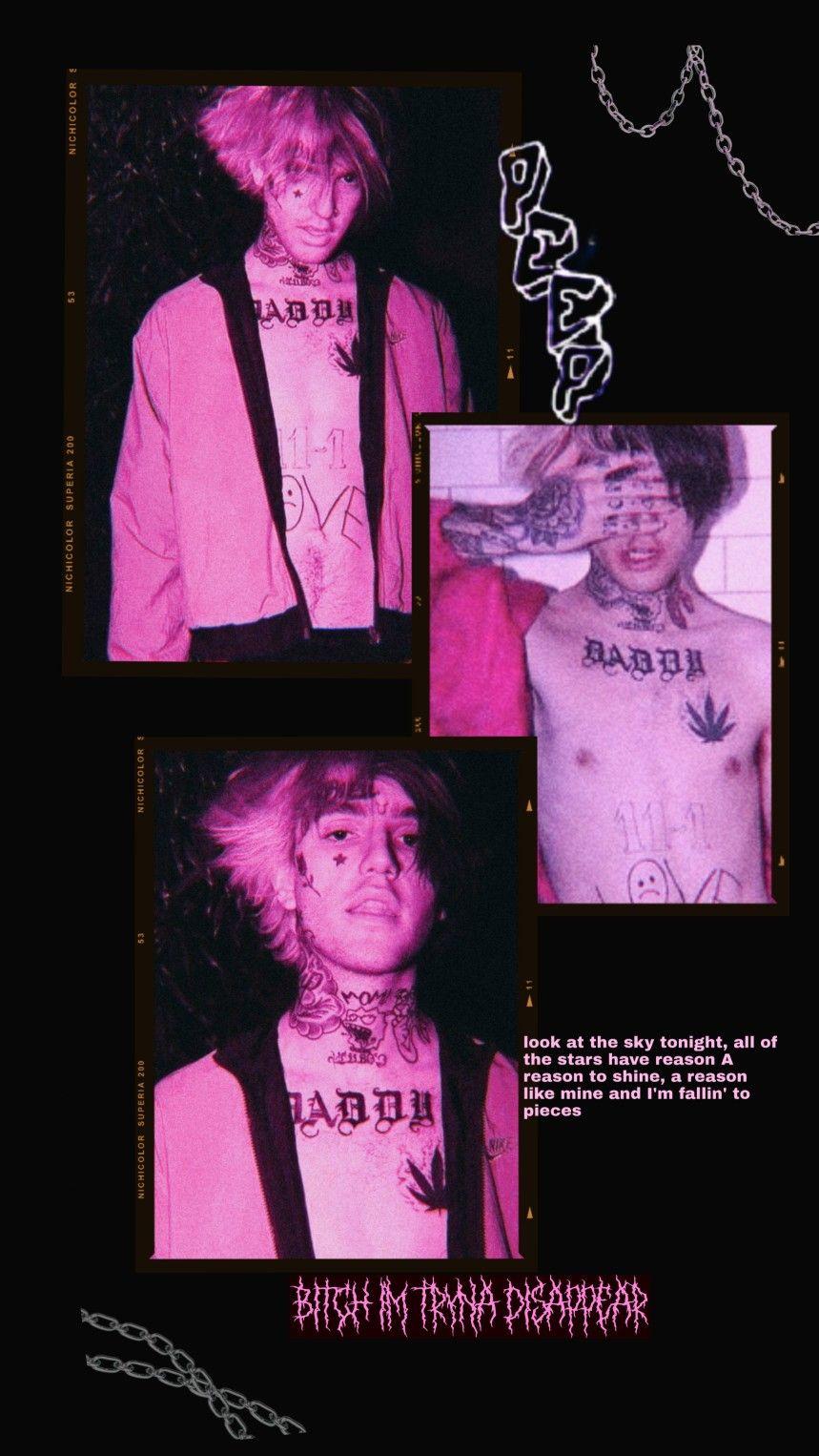 Lil Peep Wallpaper Lil Peep Lyrics Lil Peep Hellboy Lil Peep Beamerboy