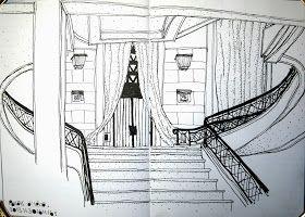 Urban Sketchers Paris: Auguste PERRET au Palais d'Iéna
