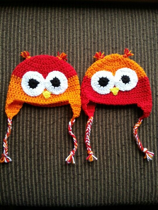 My owl hats I make :) get one from me on craigslist fort ...