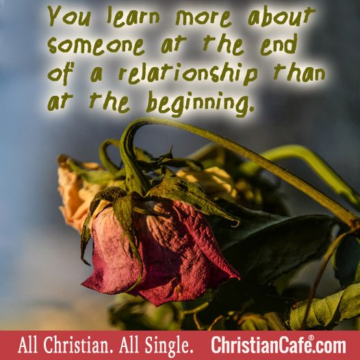End Relationship To How A Christian Dating