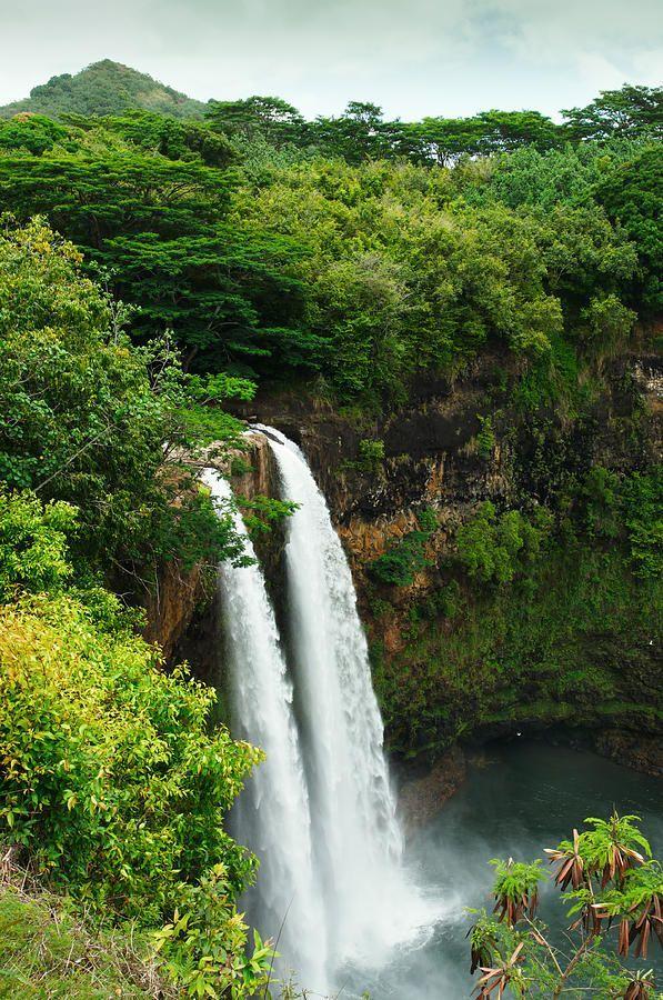 Wailua Falls - Kauai waterfall