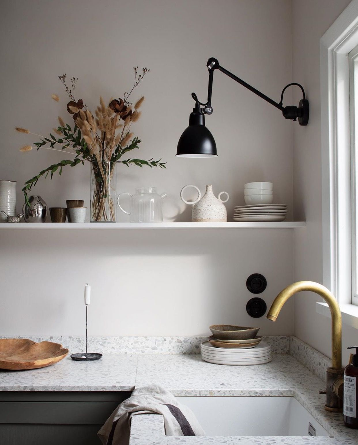 Kitchen Dcw Editions Lampe Gras Wall Lamp In 2020 Kitchen