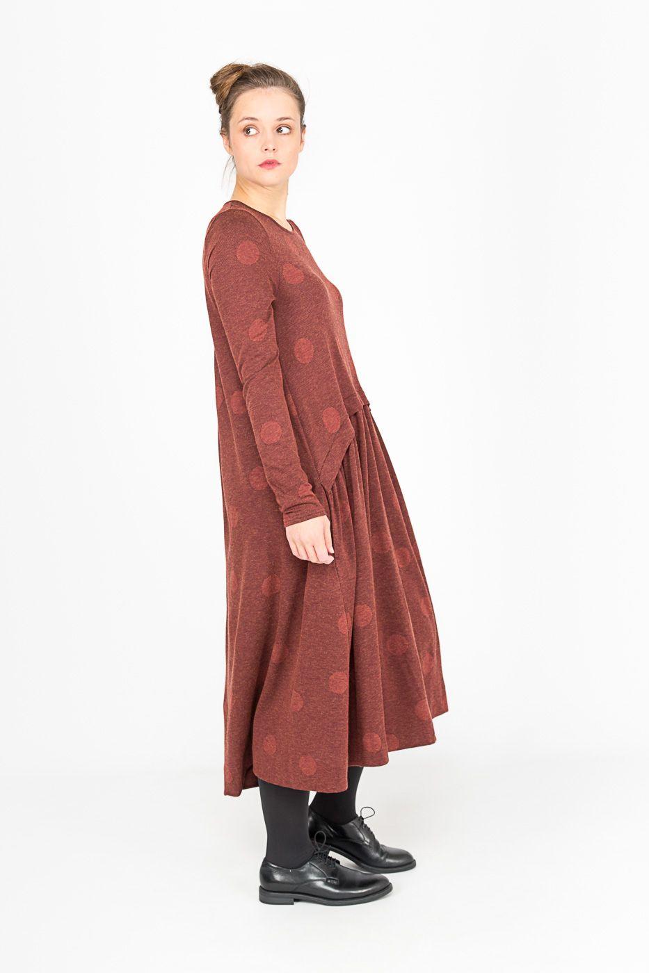 71ece3e4f05e9 Robe Lilith • mode femme - Pois en ton sur ton #robe #lilith #FW17 #pois