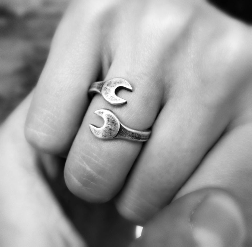 Rings : Rouille RaceRing - Silver